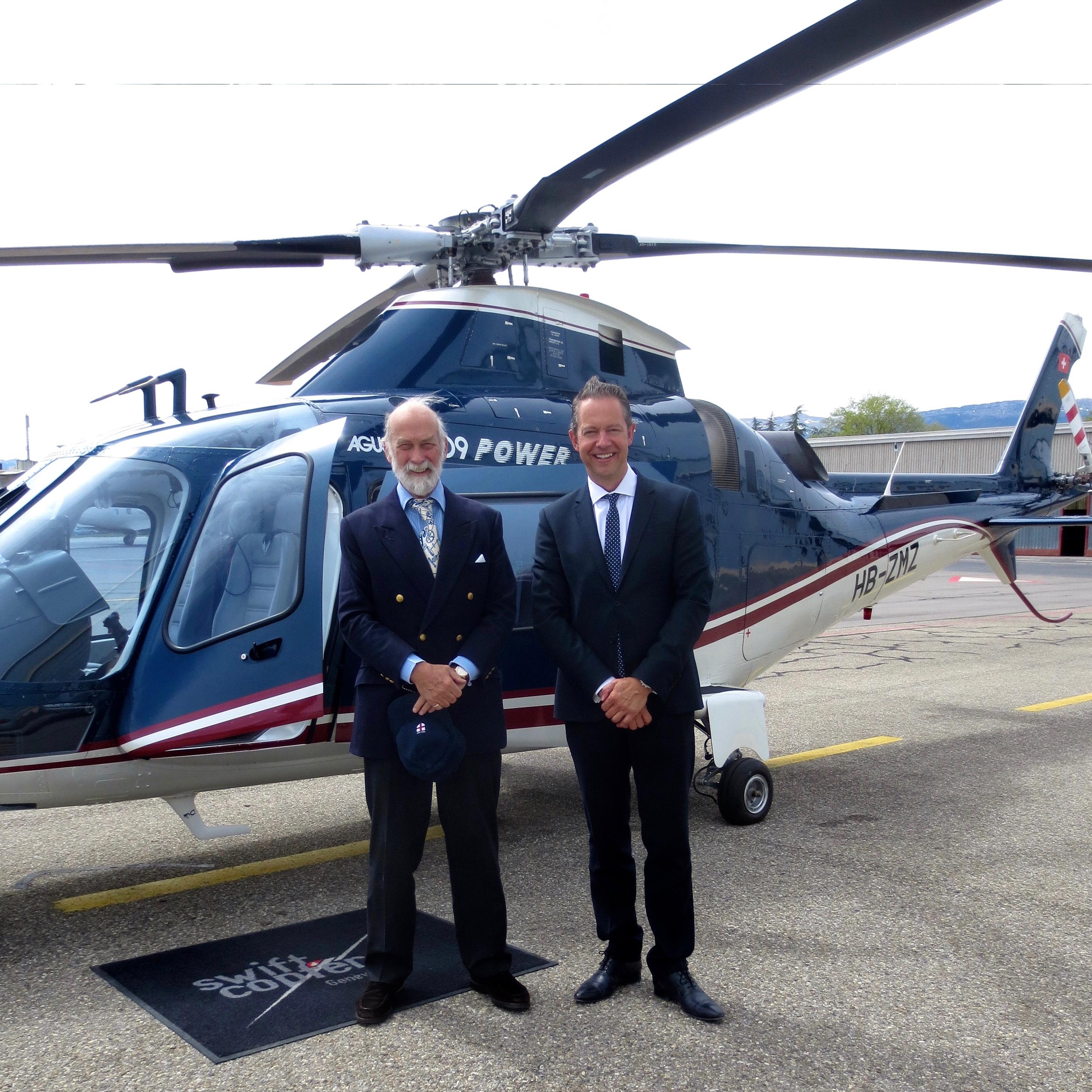 Prince Michael Visit to Geneva