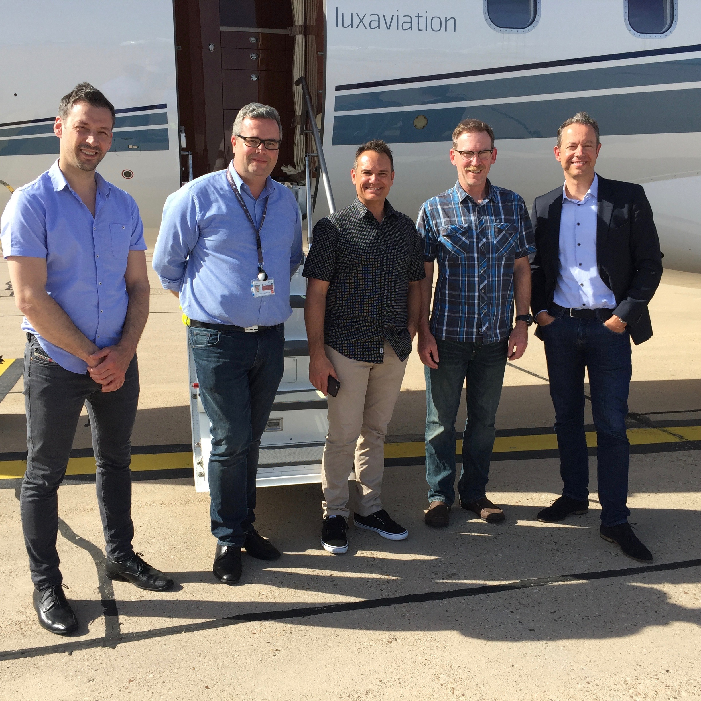 CL300 Pre Purchase Inspection at Jet Aviation Basel